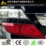 Fibre de carbone blanc Couverture de lumière Car Lampshade Auto Décoration