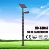 Le ce, RoHS a délivré un certificat la lumière solaire de jardin de DEL