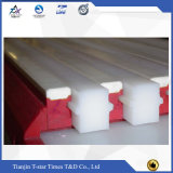 Peças sobresselentes da almofada do bloco do CNC UHMWPE do OEM do tamanho da cor