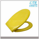 Schnelle Freigabe-farbiger keramischer runder Toiletten-Sitz