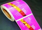 Il colore completo su ordinazione ha stampato l'autoadesivo di carta del contrassegno con il migliore prezzo