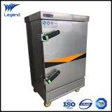 Macchina commerciale automatica del vapore del riso dell'Non-Impronta digitale