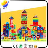 Juguetes de madera educativos de los niños con rompecabezas y ladrillos Kong del juguete y bloqueo de Ming