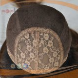 100% Dark Brown #6/#8/#4 Color humanly Hair Silk Top vertex Jewish Wigs