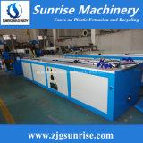 Linha plástica do indicador do PVC e da máquina da produção da extrusão do perfil da porta