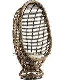 편리한 옥외 가구 합성 등나무 의자 정원 & 발코니를 위해 를 사용하는