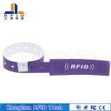 Wristband sintético personalizado do papel RFID para pacotes do curso