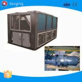 Fornitore raffreddato industriale del refrigeratore di acqua della vite di aria della Cina per l'iniezione