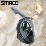 Smacoのパノラマ式のAnti-Fog反漏出完全乾燥したシリコーンのスキューバダイビングの水泳のスノーケルマスク