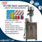 Полуавтоматные электрические чонсервные банкы Dfj160 герметизируя машину