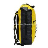 40L asciugano lo zaino d'escursione rampicante impermeabile di campeggio del PVC della tela incatramata di sport