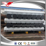 Tubo de acero galvanizado redondo de la INMERSIÓN caliente de BS1387/ASTM A53 ERW