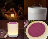 Nieuwe aankomst bluetooth spreker met de lamp van de aanrakingssensor