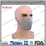 Masques protecteurs non tissés plats du filtre N95 de respirateur du pli Ffp2