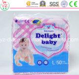 Linha bebê respirável macio Couche do OEM da absorção do tecido do bebê