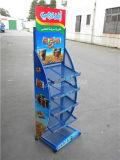 昇進の金属線の網の食糧棚のスーパーマーケットの陳列台