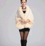 新しい方法Foxの女性のマントのコート