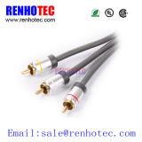 Tipo cable del molde del cable/RCA del sistema de pesos americano