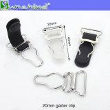 Clip ceinture de jarretière en métal