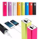 banco alternativo portátil da potência do carregador de bateria do USB do External 2600mAh