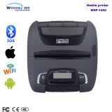 Impressora térmica portátil do recibo de um WiFi Bluetooth de 4 polegadas