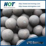 20mm160mm en Malende Bal die van het Staal van de Molen van de Bal van het Cement de Warmgewalste Gesmede ontginnen