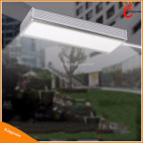 Luz solar de parede Alumínio exterior Alloy 48 LED Microwave Radar Sensor Waterproof Energy Saving Solar Lamp