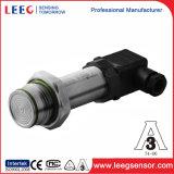 Transmisor enrasado higiénico del sensor de la presión del diafragma para la medida llana