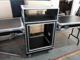 caja del estante 12u con el vector lateral del soporte