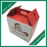 Cadre ondulé de carton de forme de pignon empaquetant la boîte sèche fraîche à fruit