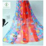 signora stampata Silk Scarf di modo dello scialle chiffona più nuova 2017 150*200cm