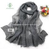Linen Связывать-Покрасьте Bamboo повелительницу Способ Шарф хлопка шарфов
