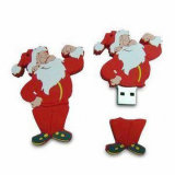 Vinda do dia de Natal da movimentação 2016 do flash do USB de Papai Noel