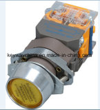 Dia22mm-La118alnの押しボタンスイッチ、黒、赤、緑、黄色、青、白いカラー、6V-380V電圧