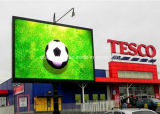 P10 a todo color e impermeables de la visualización de LED al aire libre, P12, P16, frente de la pantalla de visualización de LED P20 mantienen los paneles del LED para los deportes y el estadio