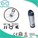kit eléctrico de la bici del motor del eje de 36V 350W con la batería de la botella