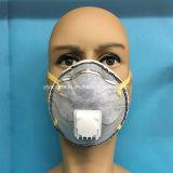 Máscara disponible del respirador de la seguridad con la válvula activa del carbón