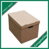 Cartón corrugado archivo de papel y cajas de almacenaje