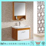 Keramischer Bassin-Badezimmer-Eitelkeits-Schrank mit Spiegel-Schrank