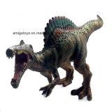 O brinquedo plástico macio relativo à promoção do dinossauro encheu-se com o algodão para miúdos e crianças