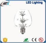 G125 la forma del calor Epistar LED grande bombilla de filamento de luz