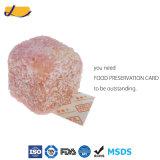 Carte 100% déshydratante de conservation des aliments de fibre d'absorption
