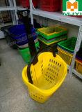 Supermercado Conveniente Varejo 2 Handle Shopping Basket