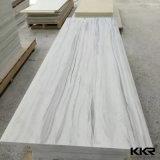 도매 12mm Carrara 백색 단단한 지상 싱크대 석판