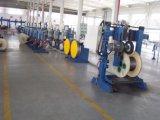 セリウム/ISO9001/7つのパテントの屋外の光ファイバケーブル機械中国の光ファイバカラリングおよび巻き戻す装置