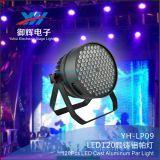Lumière élevée de PARITÉ de fonte d'aluminium de Brightness120*3W RGBW DEL