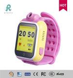 3日のWoringの時間R15の子供のためのGPSの腕時計