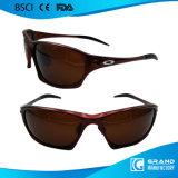 Óculos de sol elevados do esporte do curso da ponte do nariz do projeto na moda novo