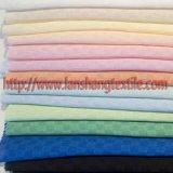 ポリエステルファブリックは女性の服のスカートの子供の衣服のホーム織物のためのファブリック化学ファイバーのジャカードファブリック格子ジャカードファブリックを染めた