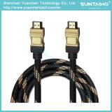 Высокоскоростная Nylon линия кабель HDMI с локальными сетями для TV/Computer/HDTV